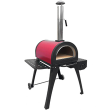 Brick Floor Pizza Oven Outdoor Stove for Home Use Stainless Steel Oven