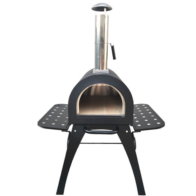 Outdoor Wood Fired Pizza Oven Stainless Steel Pizza Stove for Garden