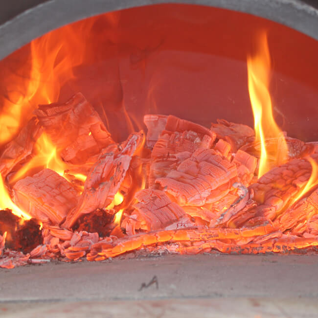 Wood Fired Pizza Oven Stainless Steel
